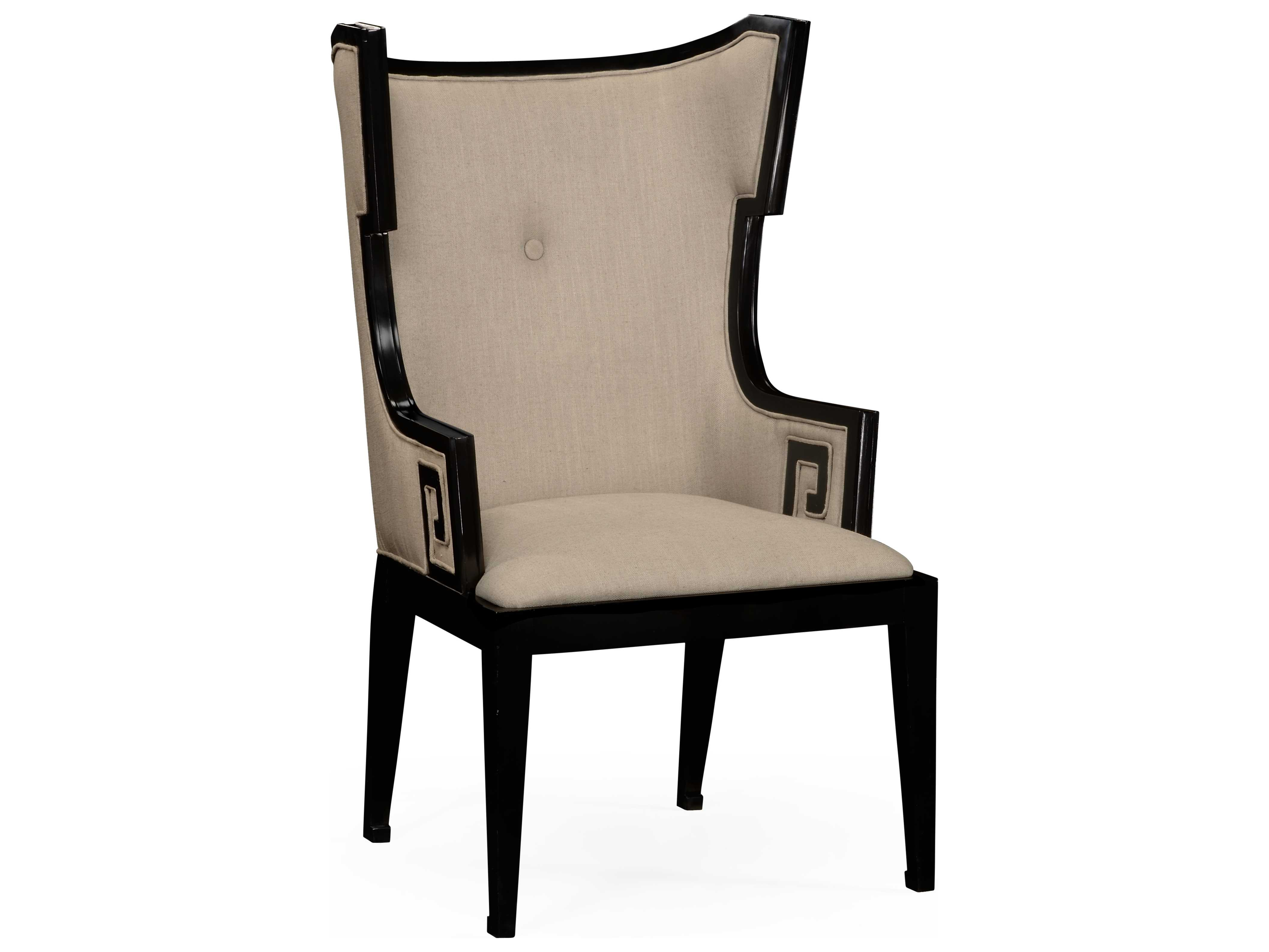 formal living room accent chairs ethan allen jonathan charles windsor painted black chair