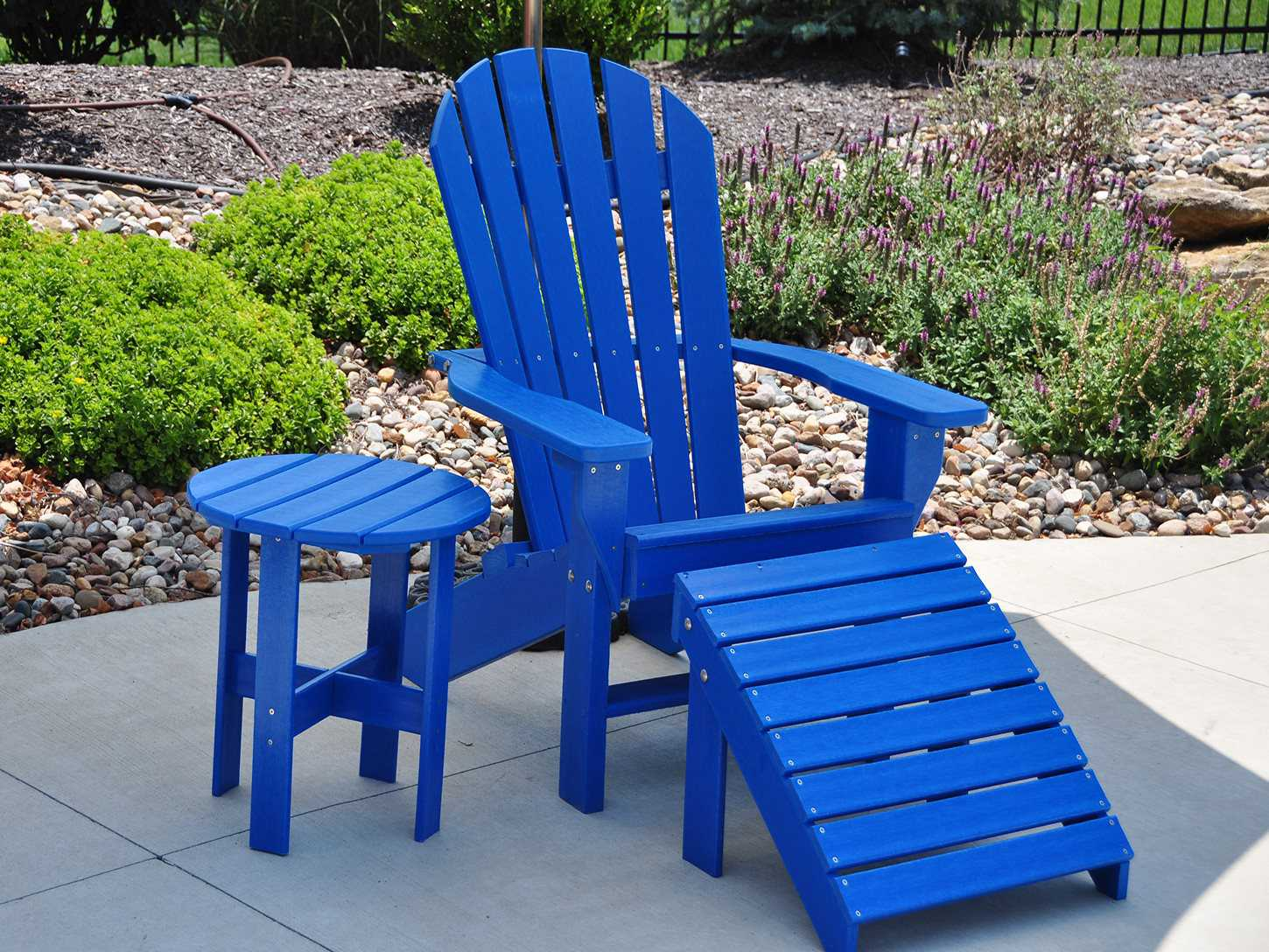 Recycled Adirondack Chairs Frog Furnishings Recycled Plastic Seaside Adirondack Chair