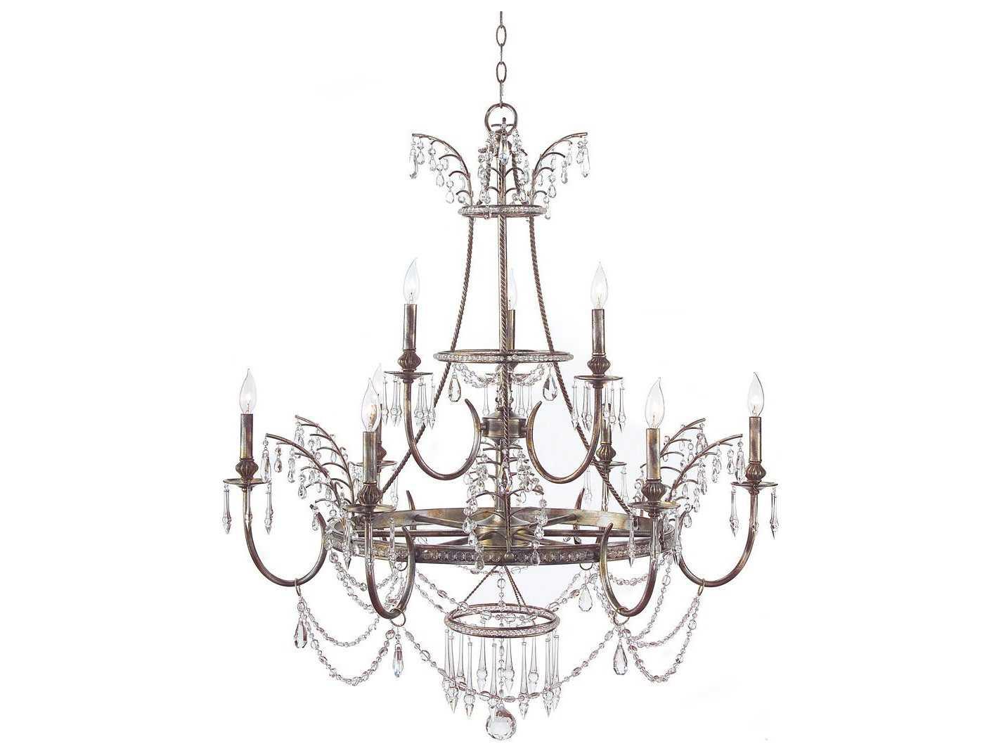 John Richard Versailles Nine Light 40 Wide Grand