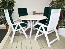 Kettler 46 Kettalux Dining Table With Umbrella