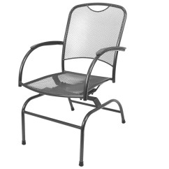 Wrought Iron Rocking Chair Fun Accent Chairs Kettler Monte Carlo Spring Rocker