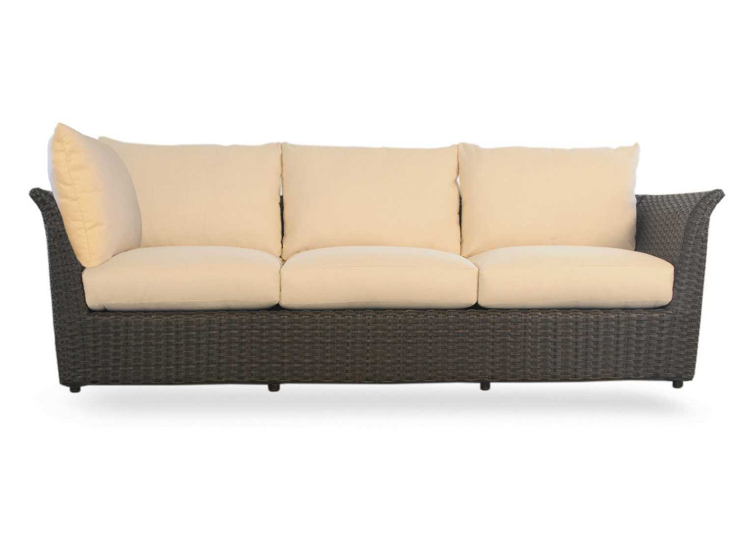 replacement cushions for sofa backs sofas and chairs new orleans lloyd flanders flair cushion sectional