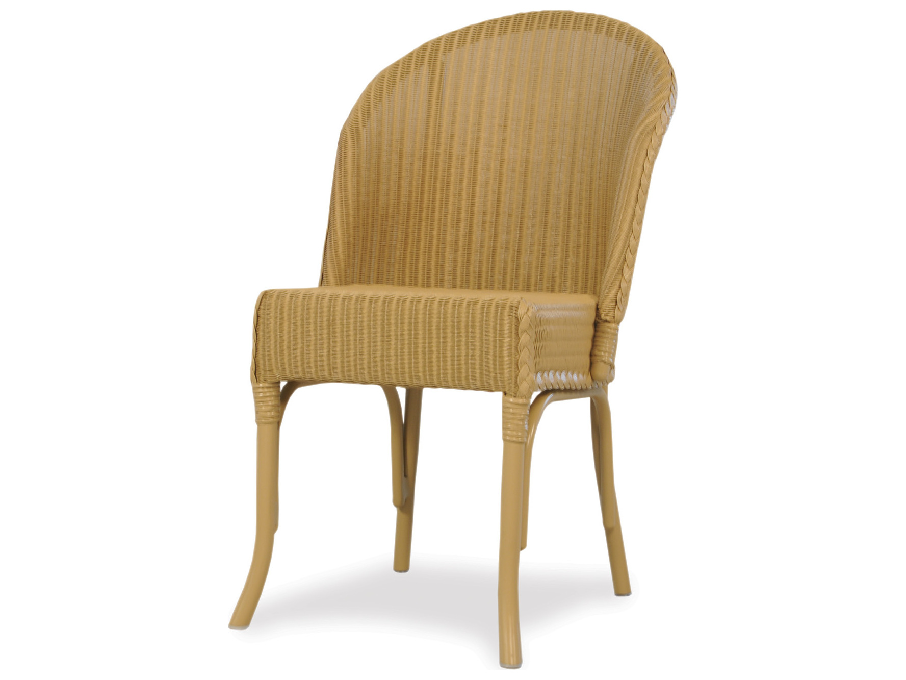 Wicker Circle Chair Lloyd Flanders Dining And Accessories Wicker Round Back