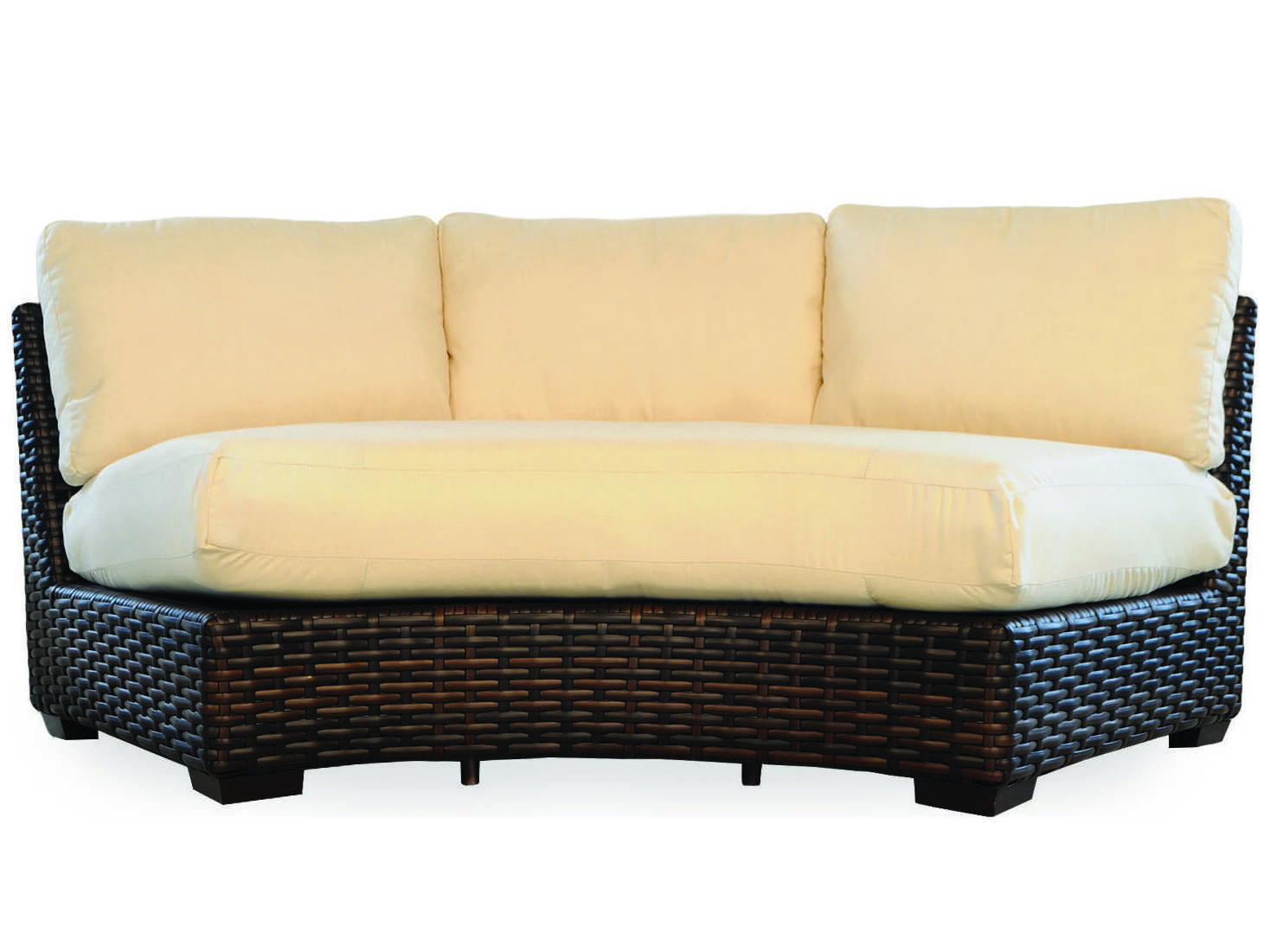 replacement cushions for sofa backs where to buy cheap sectional sofas lloyd flanders contempo curved