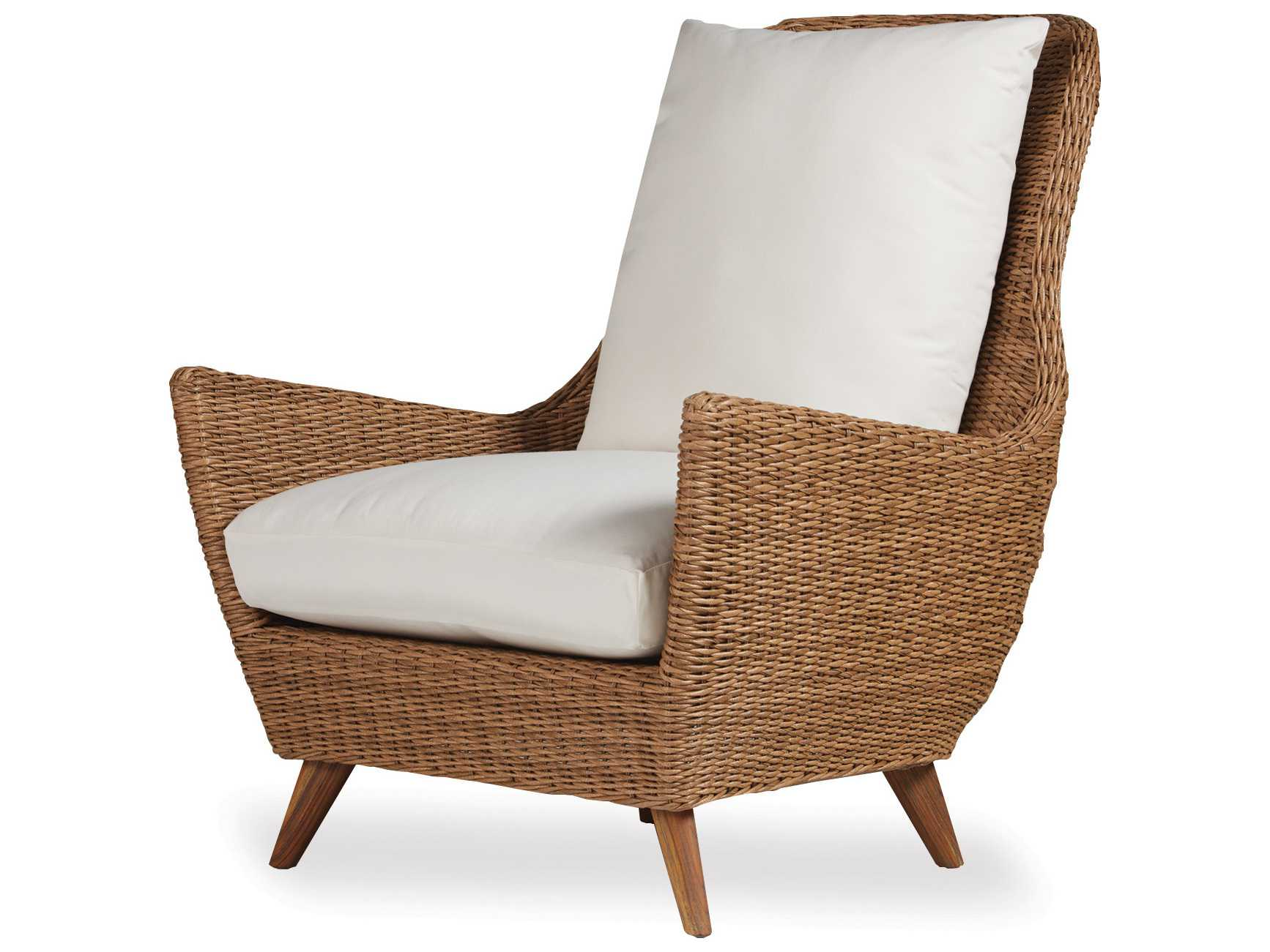 high back wicker chair cushions captains chairs for boats lloyd flanders tobago lounge 426012