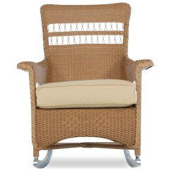 Front Porch Lounge Chairs Folding Table And Set India Lloyd Flanders Nantucket Wicker Rocker Chair 51036