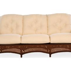 Lloyd S Of Chatham Sofa Lillberg Cushions Flanders Grand Traverse Wicker 71355