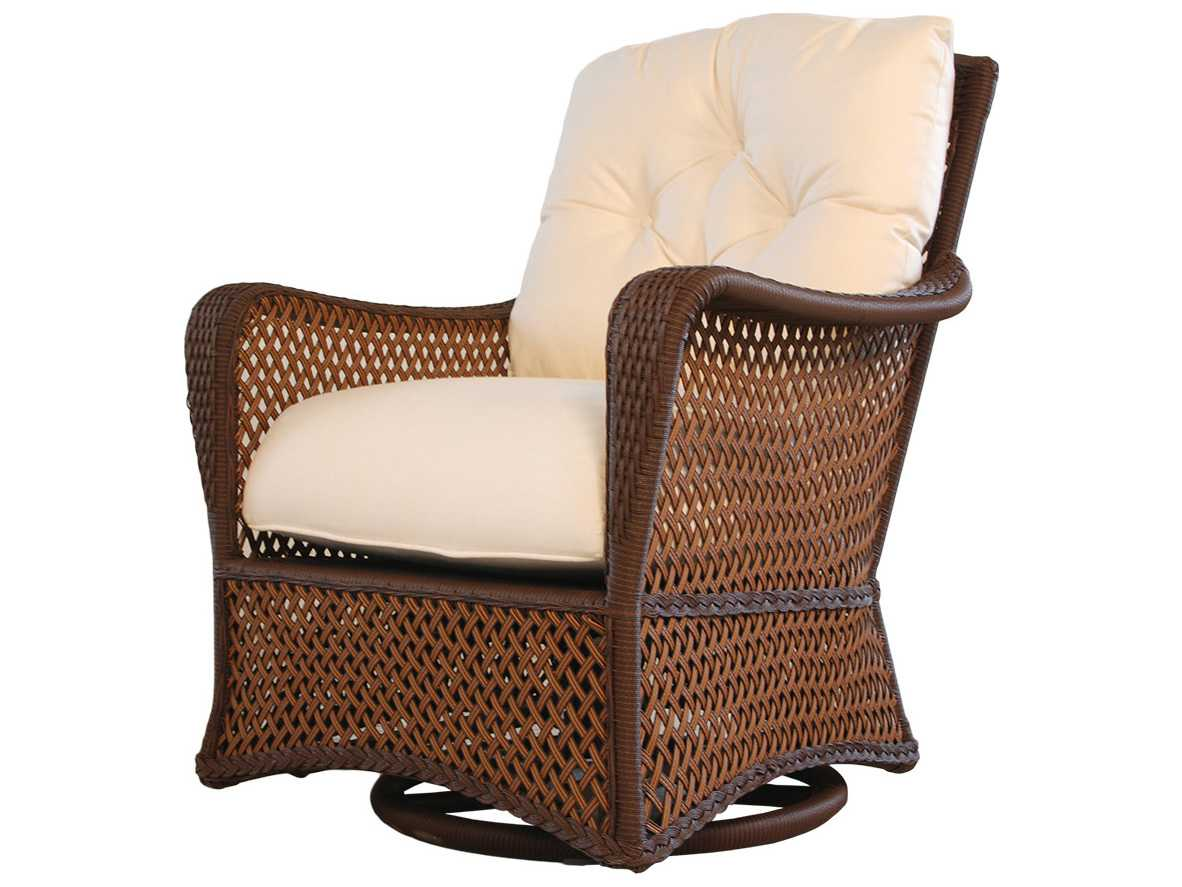 Wicker Rocker Chair Lloyd Flanders Grand Traverse Wicker Cushion Arm Swivel