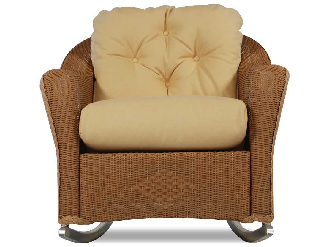 rocking chair seat replacement dallas cowboys folding chairs lloyd flanders reflections back