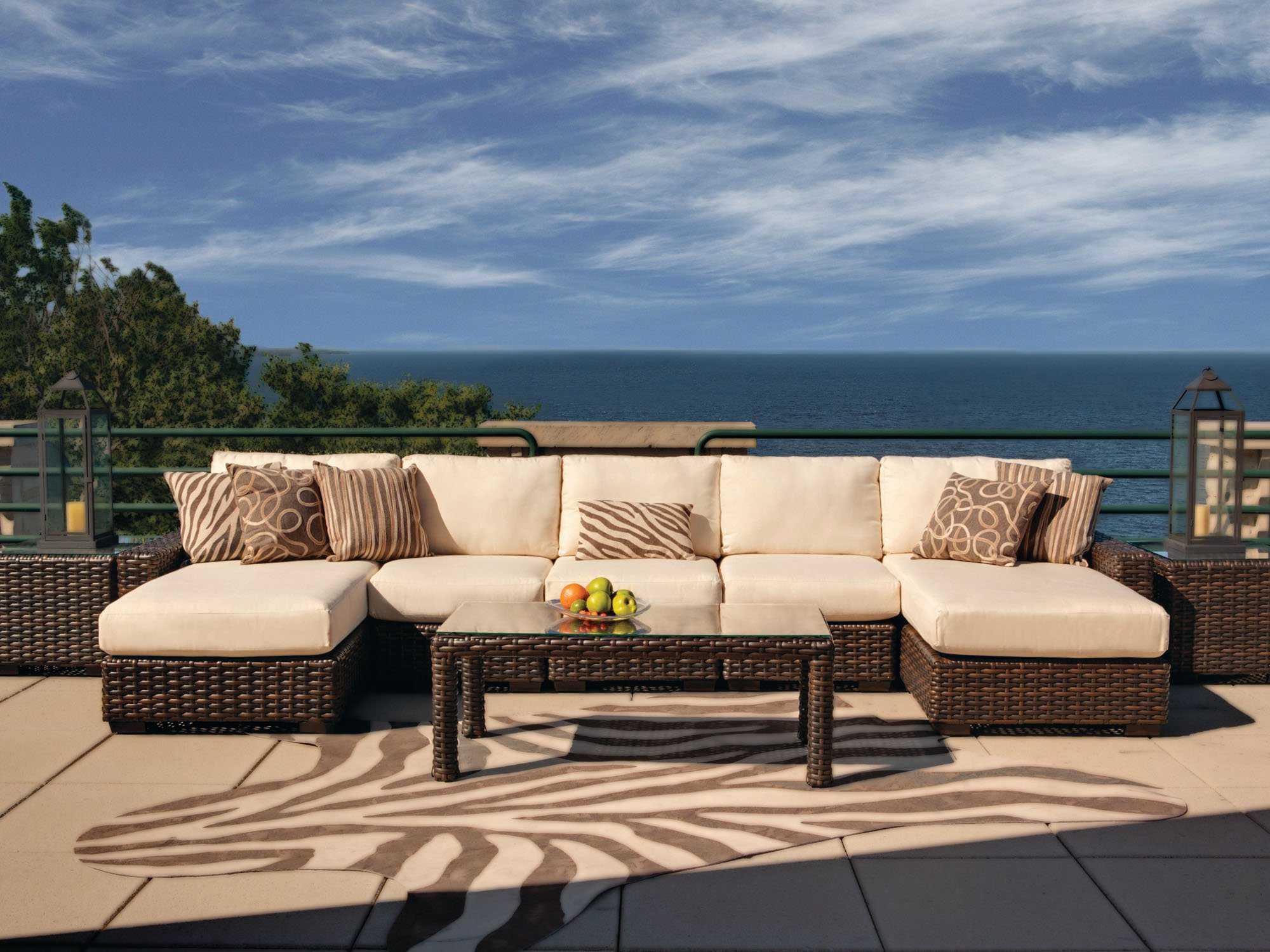 Lloyd Flanders Contempo Wicker Side Lounge Chair  38053