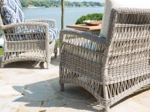Lloyd Flanders Mackinac Wicker Lounge Chair 273002