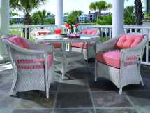 Lloyd Flanders Outdoor Wicker Dining Set