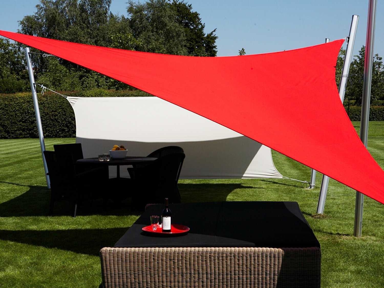 Luxury Umbrellas Ingenua 165 Triangular Anodized Aluminum
