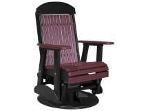 Luxcraft Recycled Plastic 2' Classic Swivel Glider Chair