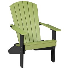 Adirondack Chairs Recycled Materials Canvas Fabric For Deck Luxcraft Plastic Lakeside Chair Lac