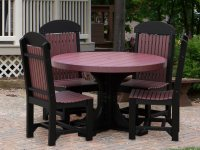 LuxCraft Recycled Plastic Dining Set | P4RT-DININGSET1