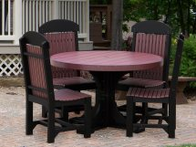 Luxcraft Recycled Plastic Dining Set P4rt-diningset1