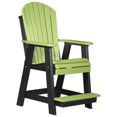Adirondack Chairs Made In Usa Eames Molded Plastic Side Chair Luxcraft Recycled Balcony