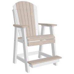 Adirondack Style Plastic Chairs Uk Grey Kitchen Table And Luxcraft Recycled Balcony Chair