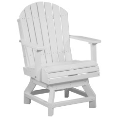 Adirondack Chairs Recycled Materials Lazy Boy Office Chair Big And Tall Luxcraft Plastic Swivel Dining Height