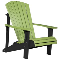 Adirondack Chairs Recycled Materials Recliner Brisbane Luxcraft Plastic Deluxe Chair Pdac