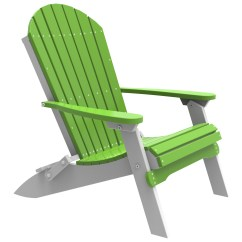 Adirondack Chairs Recycled Materials Hammock Chair Stand Ebay Luxcraft Plastic Folding Pfac
