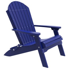 Vinyl Folding Lawn Chairs Chair Sashes For Wedding Luxcraft Recycled Plastic Adirondack Luxpfac