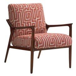 Sail Cloth Beach Chairs Bamboo Back Lexington Take Five Warren Fabric Accent Chair Lx178311