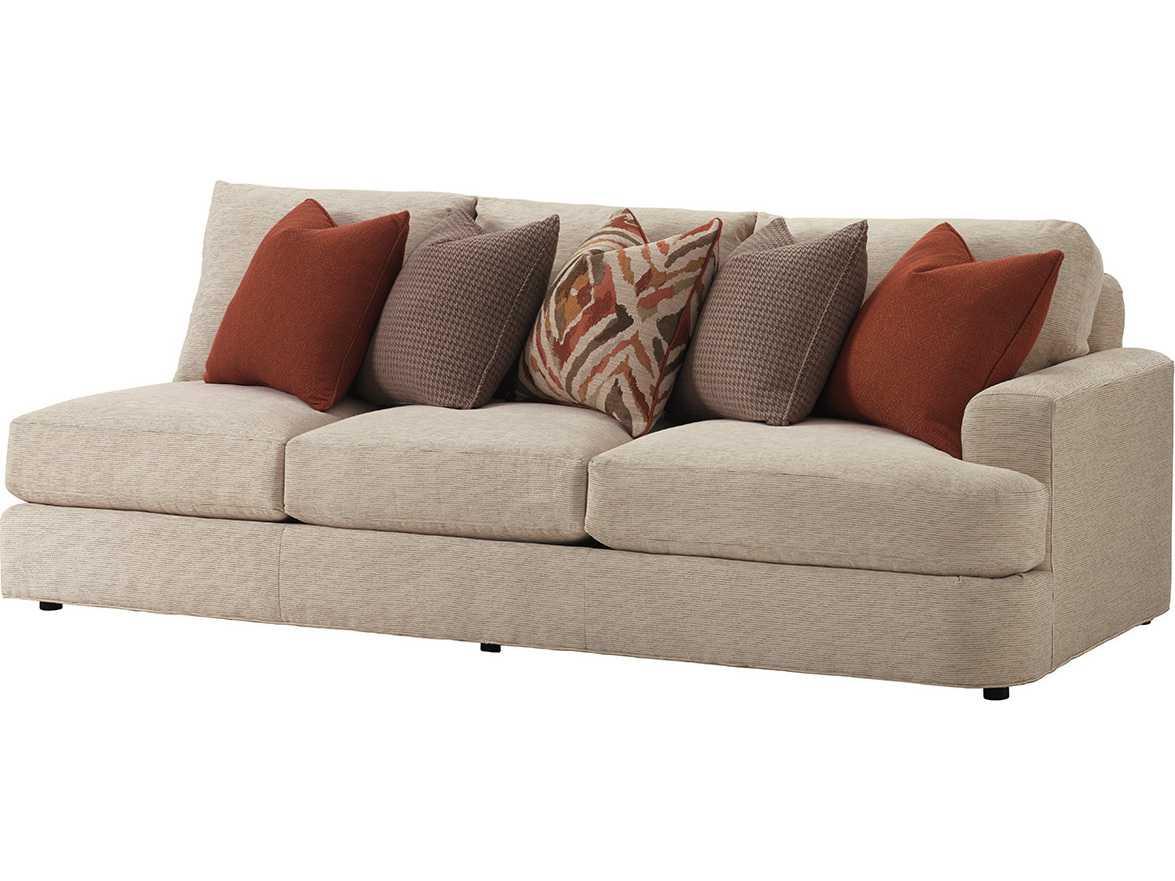 back of sofa facing fireplace cindy crawford bellingham lexington laurel canyon halandale loose right arm