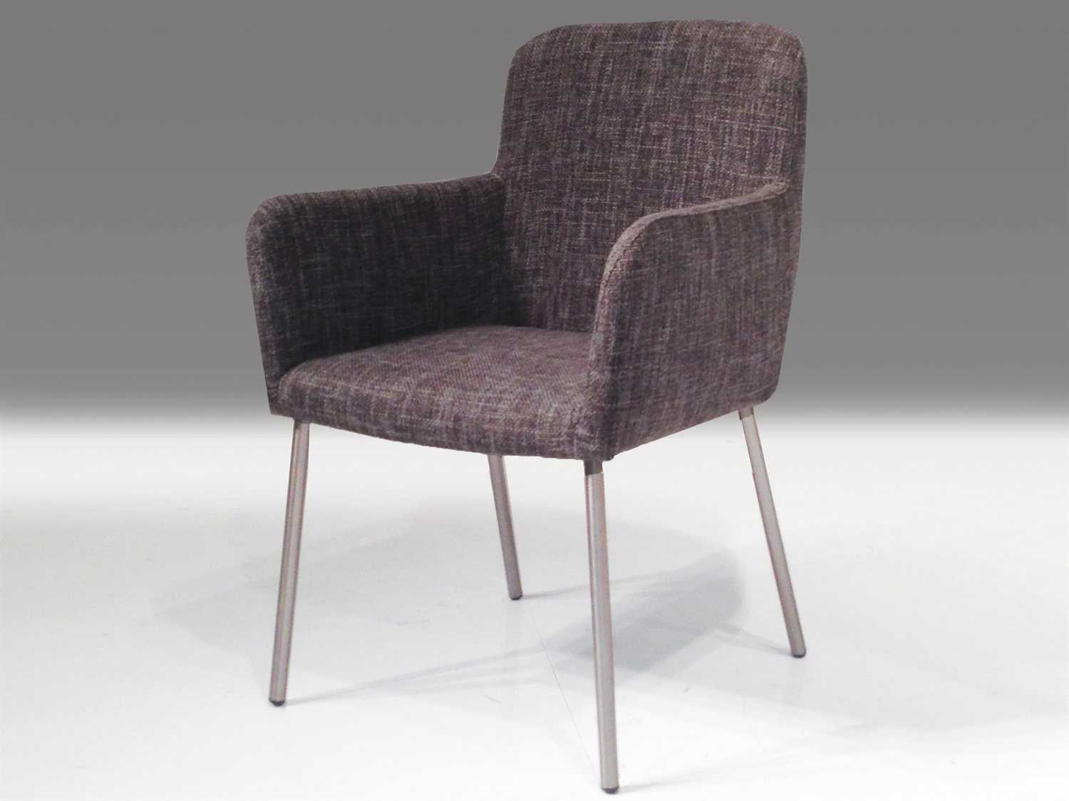 Tweed Chair Mobital Cosmo Grey Tweed Accent Arm Chair Mblchcosmgrefca117