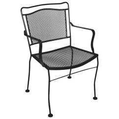 Iron Chair Price Light Brown Leather Meadowcraft Cahaba Wrought Dining Sold In