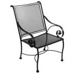 Iron Chair Price Home Chairs Back Problems Meadowcraft Monticello Wrought Dining Includes 2
