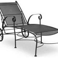 Wrought Iron Chair Porch Cushions Patio Furniture Made For Longevity Shop Patioliving Chaise Lounges