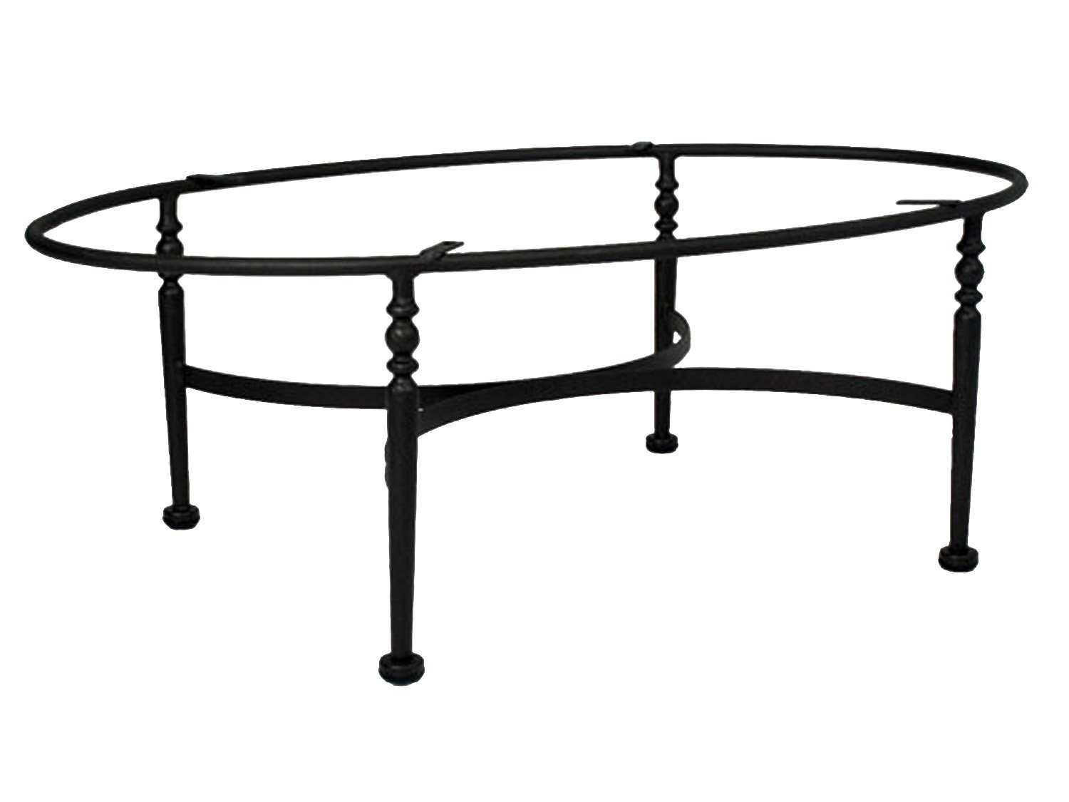 Meadowcraft Athens Wrought Iron Coffee Table Base