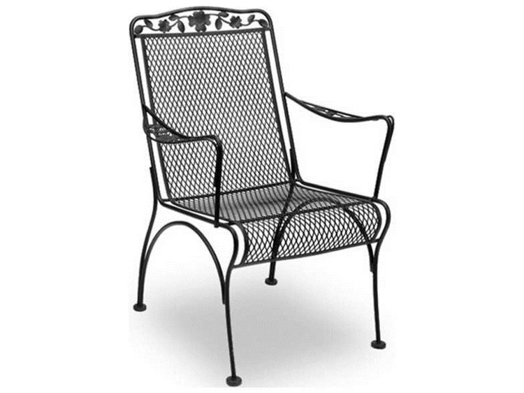 wrought iron dining chairs high folding meadowcraft dogwood chair price includes 2 md761140002