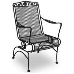 Iron Chair Price Thermarest Trekker 20 Meadowcraft Dogwood Wrought Coil Spring Dining Includes 2 Chairs Md761740002