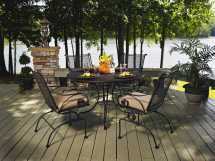 Meadowcraft Monticello Wrought Iron Dining Set Monds