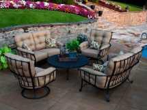 Meadowcraft Vinings Wrought Iron Lounge Set Vinwi