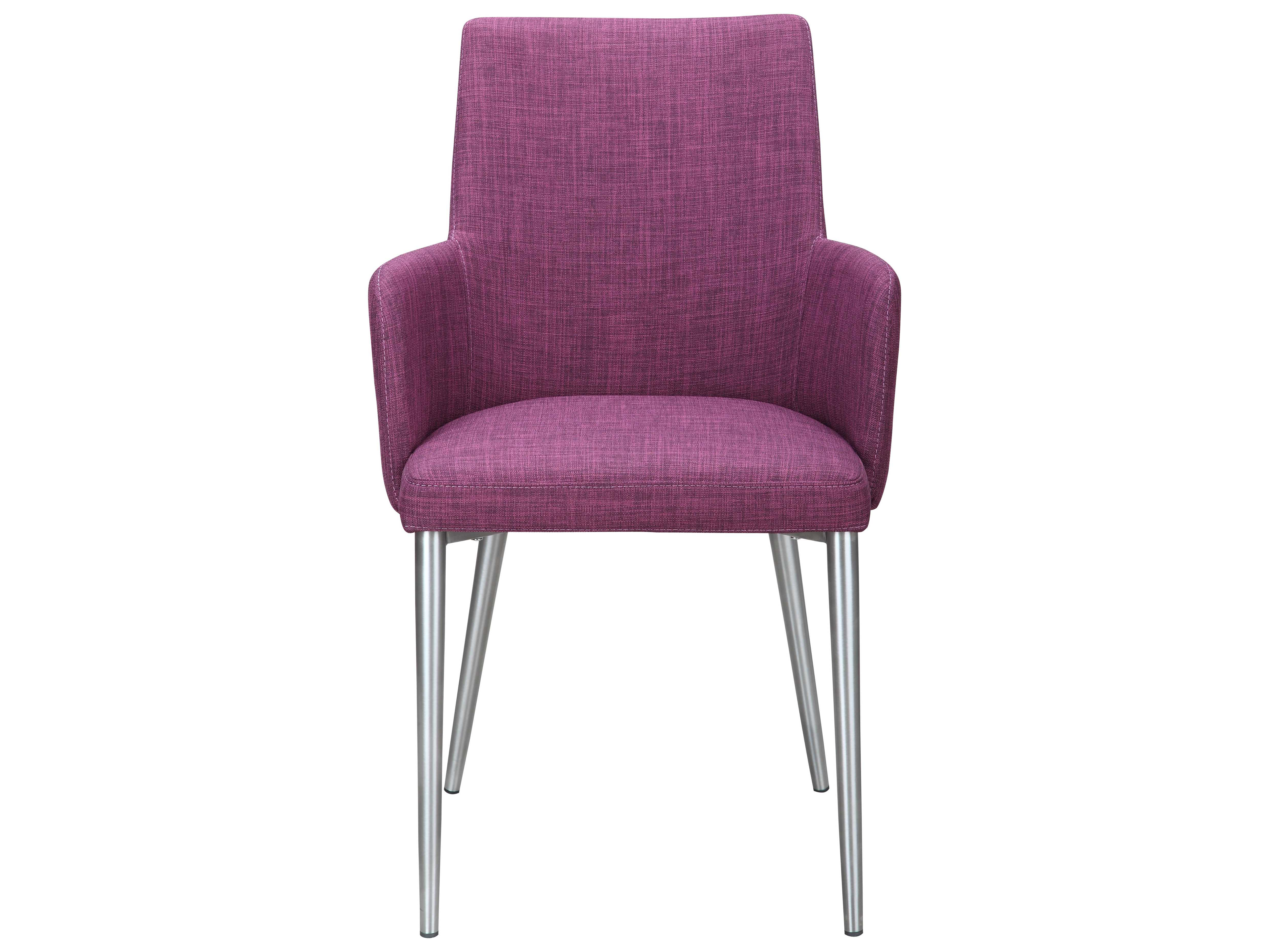 purple dining chair covers modern leather accent chairs moe 39s home collection flavia arm