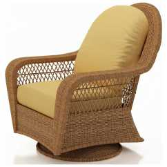 High Back Wicker Chair Cushions Stakmore Folding Chairs Forever Patio Catalina Swivel Glider