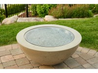 Outdoor Greatroom 42'' Round Cove Fire Pit Table   CV-30