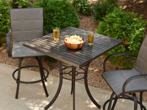 Elizabeth 36 Square Outdoor Patio Bar Table