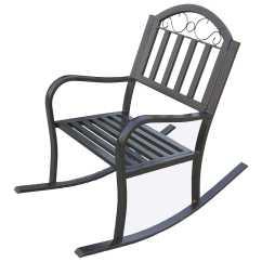 Iron Rocking Chair Sex Reviews Oakland Living Rochester Wrought Rocker 6124 Hb