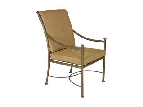 metal outdoor chair antique lounge cushioned patio furniture deep seating patioliving dining chairs