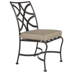 Wrought Iron Dining Chairs Used Room Table And Ow Lee Marquette Side Chair 2051 S