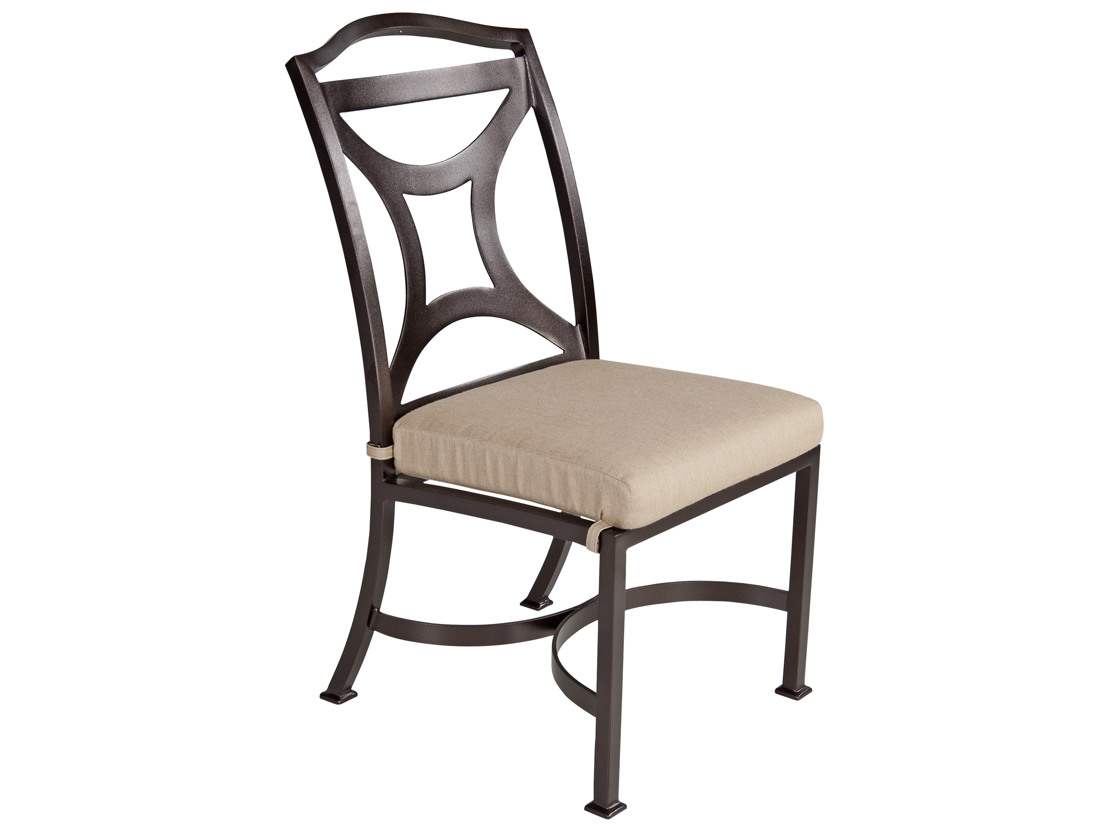 wrought iron dining chairs mickey mouse clubhouse table and chair set ow lee madison aluminum side 2251 s