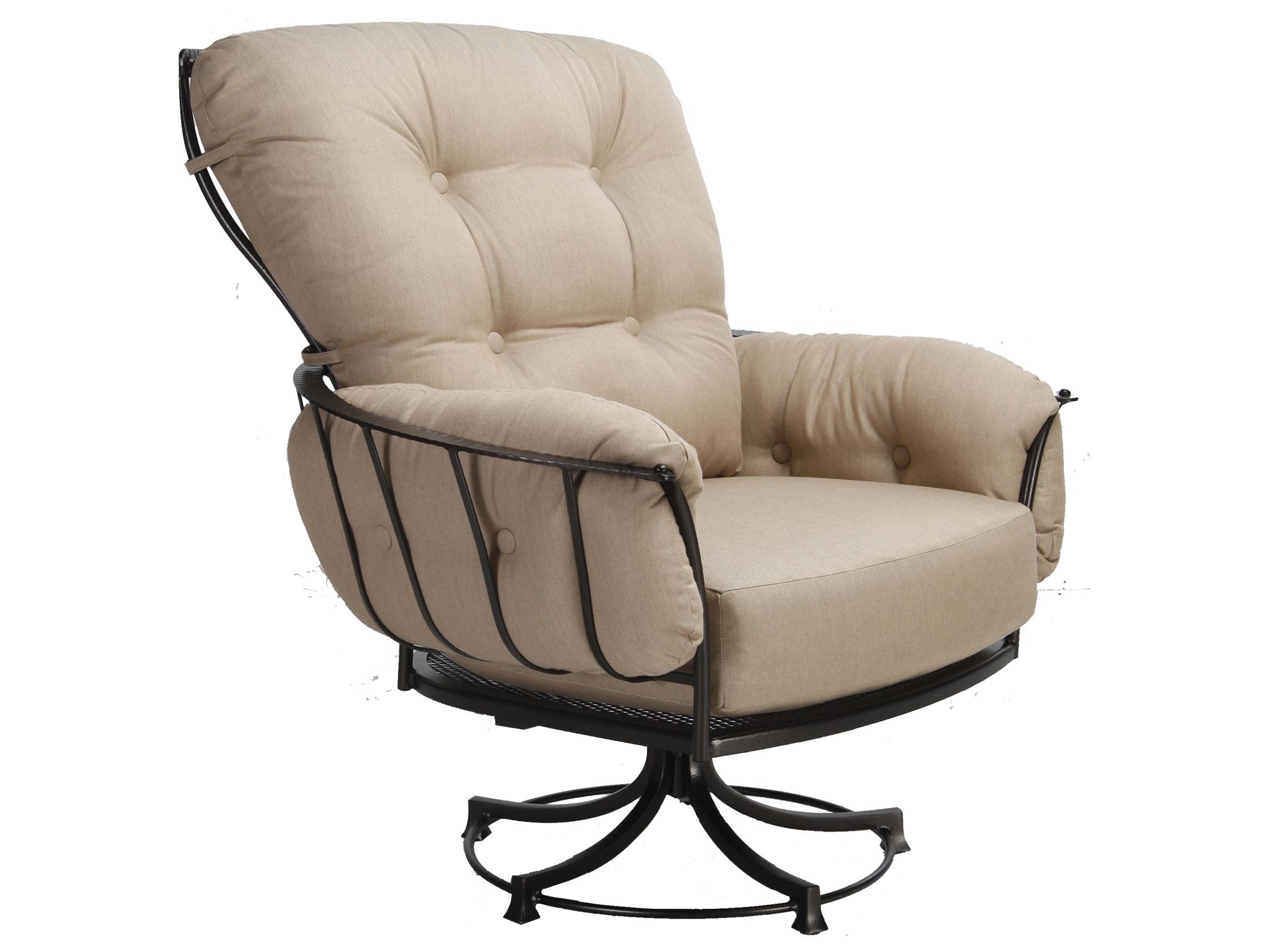 sailcloth beach chairs amazon uk wedding chair covers ow lee monterra wrought iron swivel rocker lounge