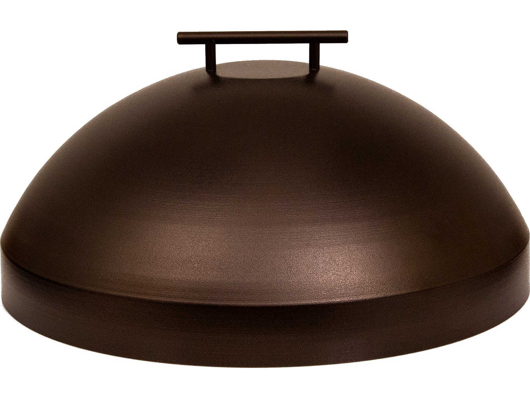 OW Lee Casual Fireside Wrought Iron Round Burner 20 Fire Pit Cover  5112S