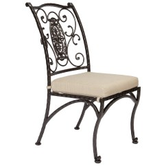Wrought Iron Kitchen Chairs White Eyelet Curtains Ow Lee San Cristobal Dining Side Chair 651 S