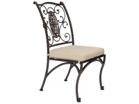 OW Lee San Cristobal Wrought Iron Dining Side Chair | 651-S
